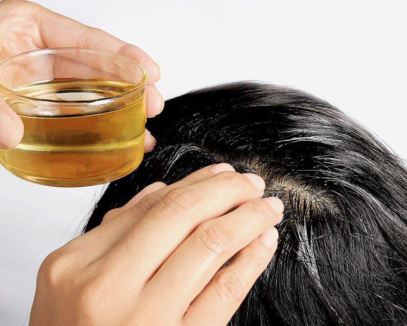 dầu dừa giúp tóc mềm mượt